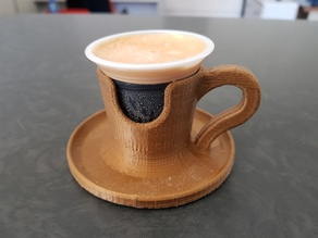 Definitive office coffee holder