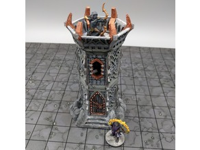OpenForge - Dark Elf Sentry Tower