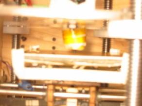 Heated Build Platform (HBP) support bracket/brace
