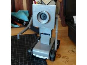 Camera mount for Pass the Butter Robot