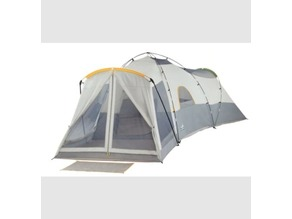 Center Tent Hub - Broadstone Family Dome Tent (13-Person)