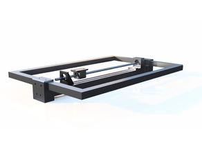 Y Axis Lead screw setup for hictop Metal frame kit