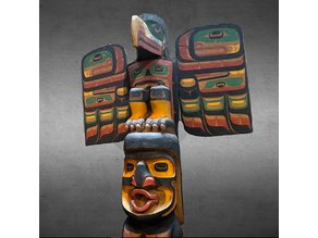 Totem Pole - Giant-Cannibal