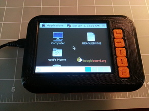 Case for Beaglebone and LCD panel