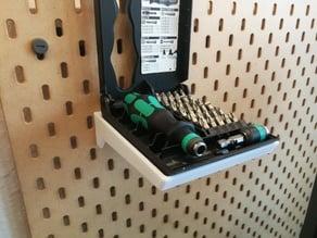 Wera Kraftform Kompakt screwdriver holder for IKEA Skådis