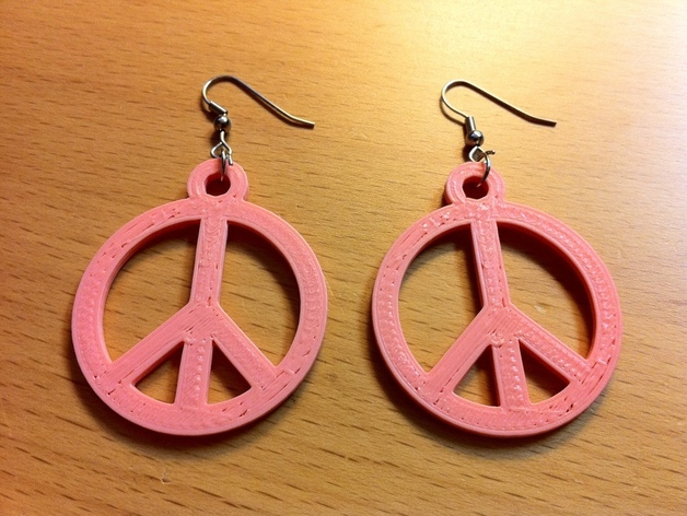 Peace Earings
