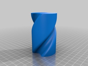 Spiral Pencil Cup for Vase Mode