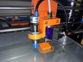 8mm probe holder for Anet A8 E3D V6 mount