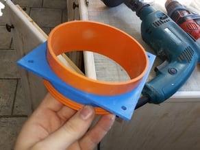 raccordo ventola / tubo da 125mm //  fitting fan / pipe 125mm