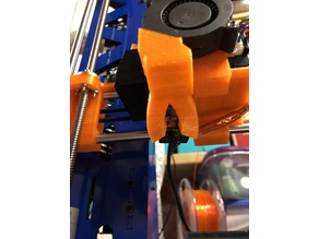 """""""Spriya"""" for printed Anet A8 X-axis extruder carriage"""