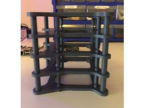 Raspberry Pi 2/3 Cluster Case accessory kit