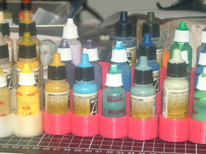 Airbrush paint stand 17ml for Vallejo Air