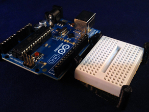 Arduino and Mini Breadboard Caddy