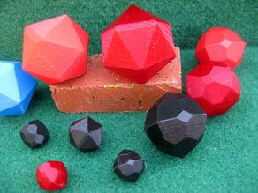 Garnet and Cobaltite Crystals