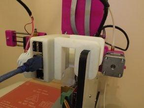 Raspberry Pi B+ Case with Bracket for Disegna3D V4 Printer and Pi Cam