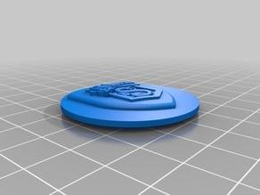 Pop socket Slytherin crest