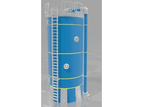 Industrial Tank (large) - Kraft 8oz (227g) container - WH40k