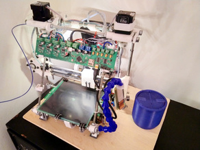 Living Hinge 3D Print Waste Disposal Can