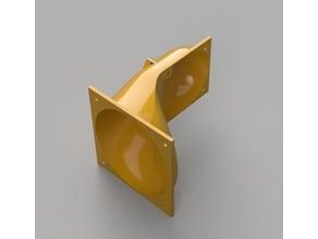 Cetus 3D Angeled 60 mm Fan Adapter