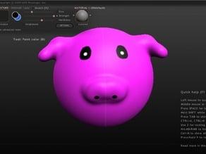Pig Head (Sculptris test)