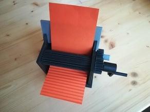 Modeling Tool - Roller press