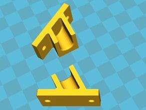 Kossel filament frame holder