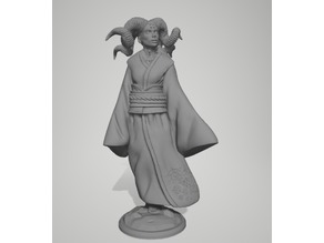Yuki Onna Demon Miniature