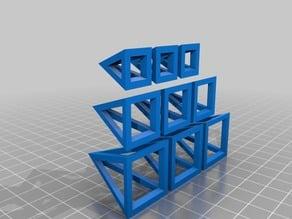 Pyramid game pieces