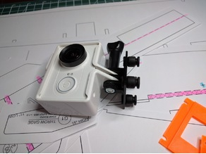 QAV250 Anti Vibration Top Plate Go Pro Mount