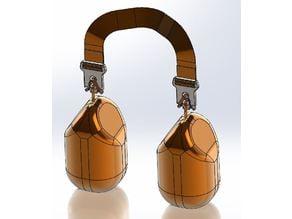 Around Neck/Over Shoulder Strap, Shopping Bag Carrier