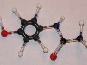 Molecular model set