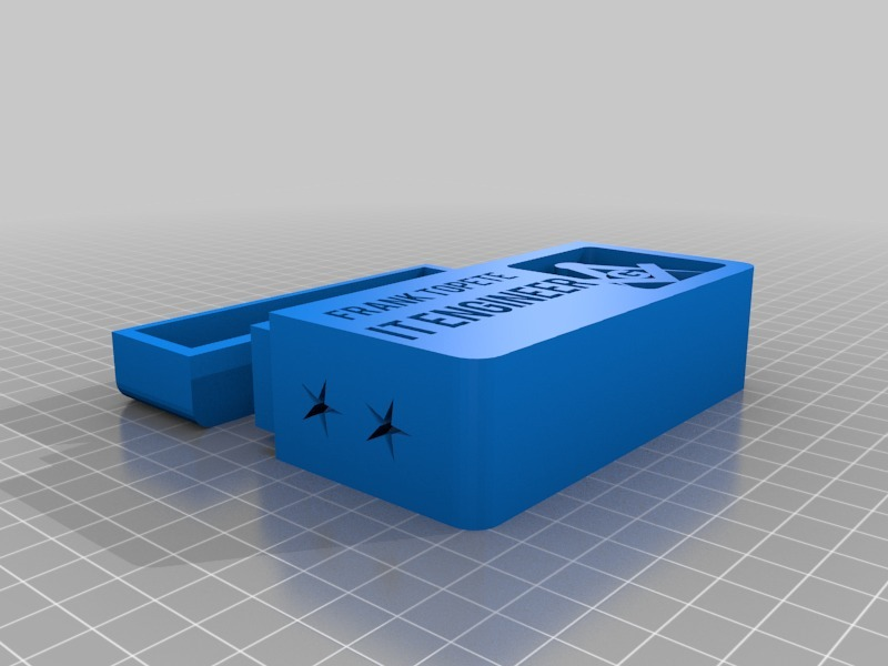 Masonic Business Card Holder by ftopete - Thingiverse