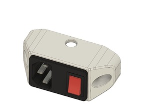 C14 Mini Power Socket Mount