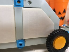 Construx 48mm Angled Panel