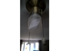 Twisted Lamp Shade