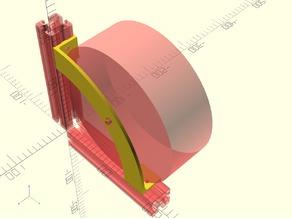 Filament Spool Holder for 4040 Profile 8