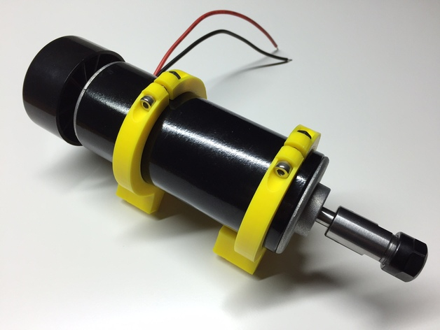 52mm Spindle Holder For Mpcnc Ie 25mm By Mazaafin