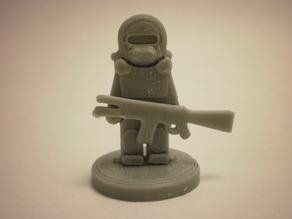 FlatMinis: Space Soldier