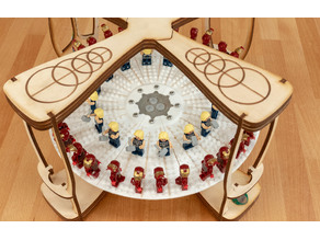 4-Mation 3D Zoetrope: LEGO compatible carousel