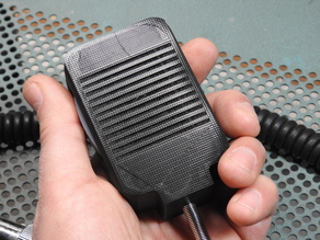 Hand mic for uBitx radio kit