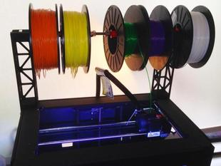 Replicator 2 Top Mount Filament Spool Holder/Dispenser