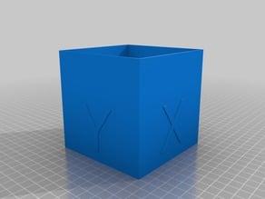 100mm calibration cube