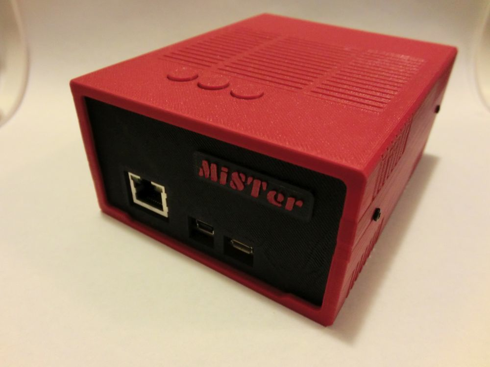 MiSTer - Case Universal v5 2 by NegSol - Thingiverse