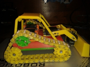 Mini Caterpillar Loader