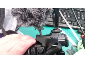 BOYA BY-MM1(or RODE)  Microphone Holder (Hotshoe) for Cameras