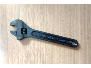 "Adjustable Spanner (""Wrench"" translated into British English)"
