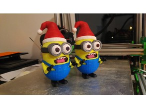 Christmas Minion Remix for easier printing