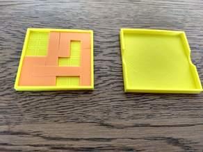 Antislide Puzzle (openscad)