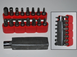 Mold For Driver Bit Handle