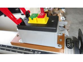 Vintage Sears Craftsman Radial Arm Saw Switch Box Mount